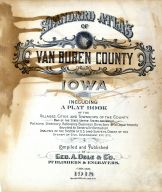 Title Page, Van Buren County 1918